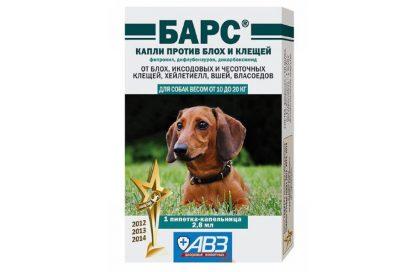 БАРС капли против блох и клещей для собак