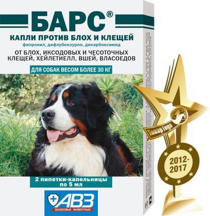 bars_kapli_insect_dog-more30ml